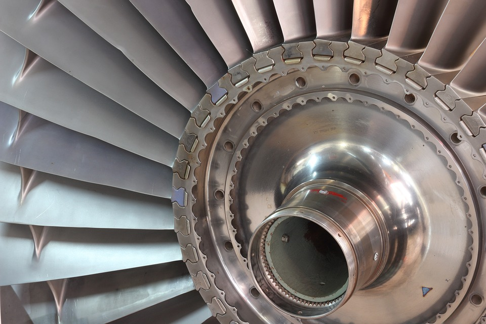 MT Aircraft Engine Blade