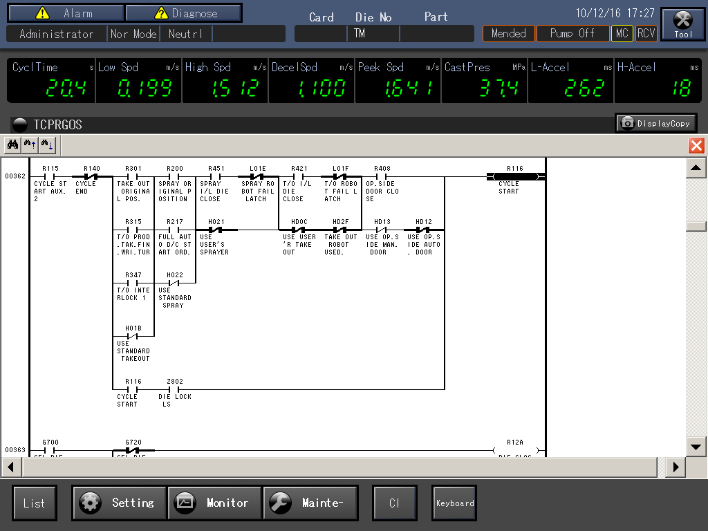 PLC Circuit Monitoring Function