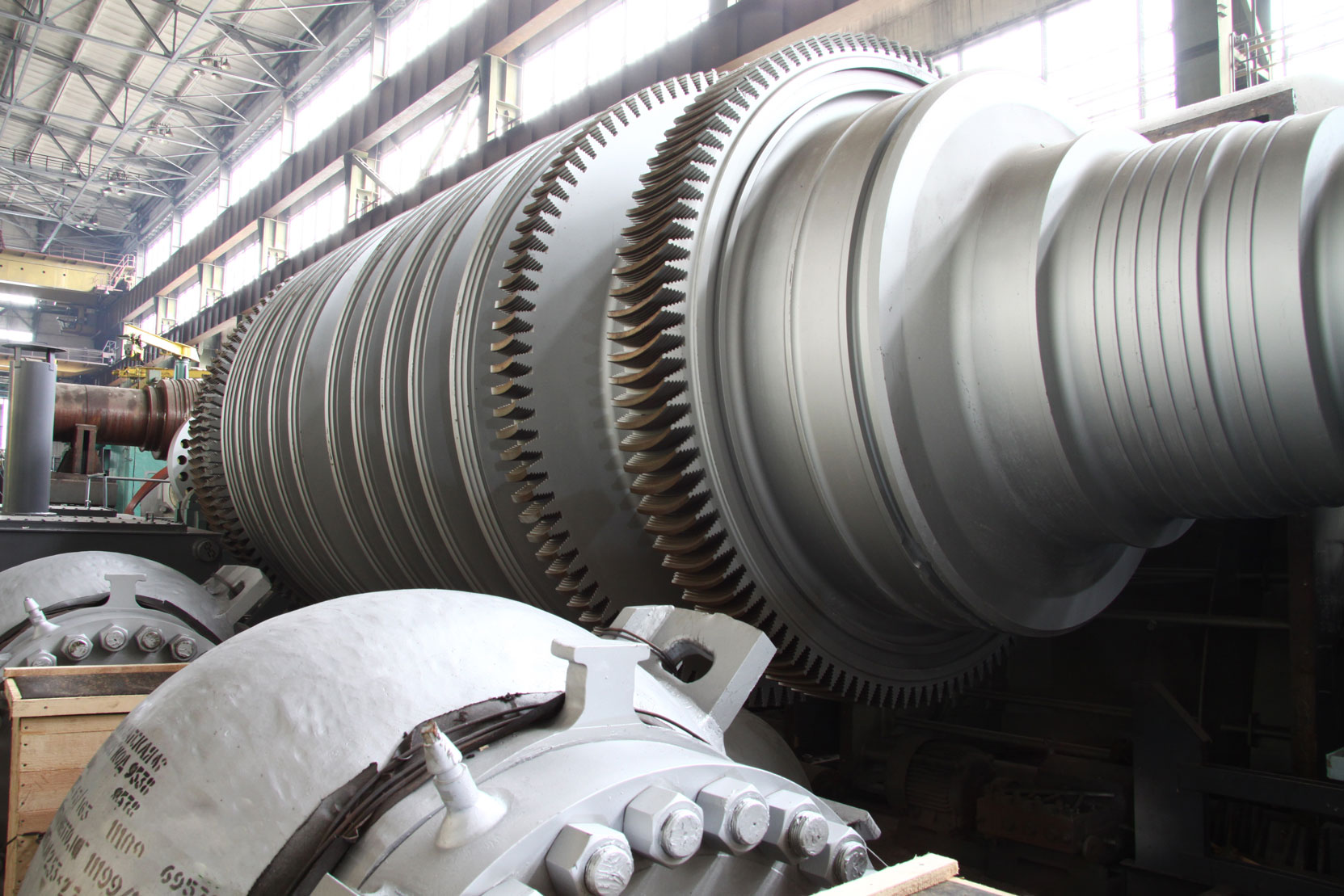 MT Energy Oil and Gas Power Generator Turbine
